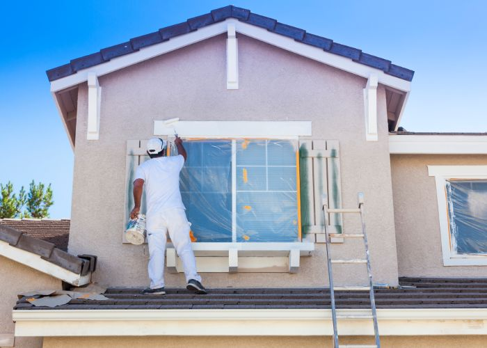 house painters in Overland Park painting house
